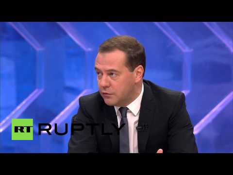 Russia: 'Crimea inextricably, painfully connected to Russia' - Medvedev