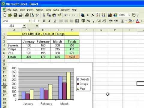 Microsoft Excel Tutorial for Beginners #1 - Overview