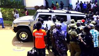 Its Hon Bobi Wine and Bebe Cool 'Katono' in a convoy Peace in place