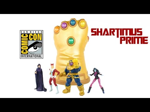 Marvel Universe SDCC 2014 Infinity Gauntlet 3 3/4 Inch Infinite Exclusive Set Action Figure Review