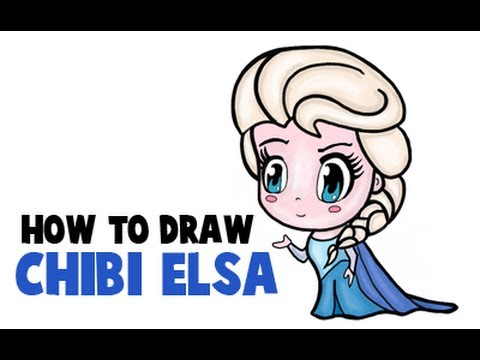 How to draw chibi elsa from frozen 8l1 Teach me how to draw a flower