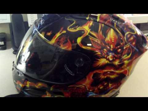 Akuma helmet review
