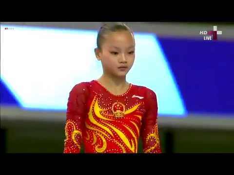 ZENG Siqi &aelig;&frac34;&aelig;&macr;&ccedil;&ordf; BB Final FIG Challenge Cup Doha 2013