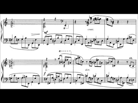 Дебюсси Клод - Complete Piano Works Etudes Этюды Этюд №3