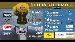 Guanto D'Oro Maschile 2018 Trofeo A. Garofalo - SEMIFINALI