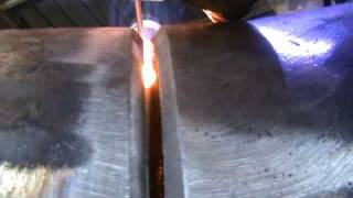 Tig Welding Greeks root pass 6 intz