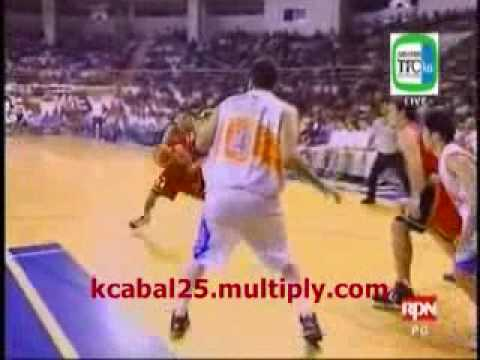Johnny Abarrientos' Side-step vs. ROS (12-12-2009)