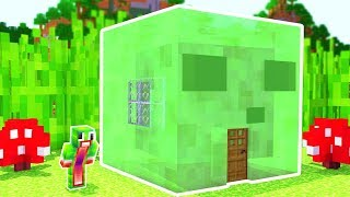 HOW TO LIVE INSIDE A SLIME IN MINECRAFT!