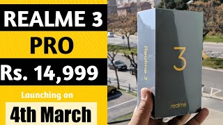 Realme 3 Pro & Realme 3 price, launch date in India | Specification| Realme 3 vs Redmi Note 7.