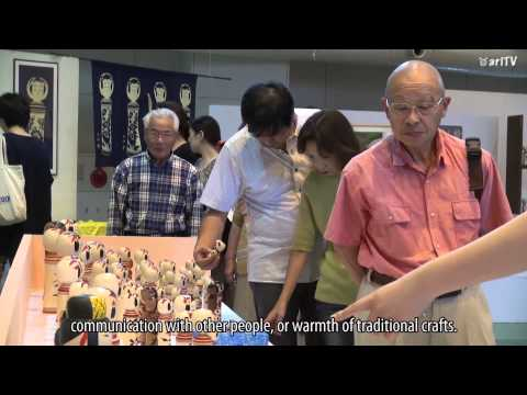 Japanese Traditional Crafters Meet—National Kokeshi Festival