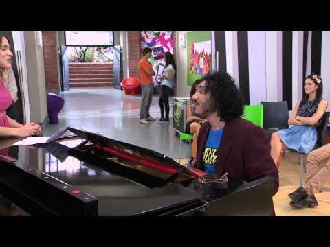 Violetta: Beto y Vilu ensayan ¨Nuestro Camino¨ Ep 78 Temp 2