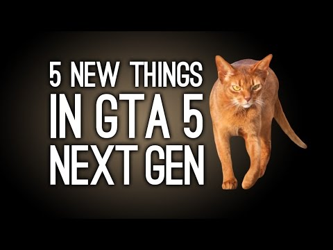 GTA 5 Next Gen: 5 New Things in GTA 5 for Xbox One. PS4 and PC