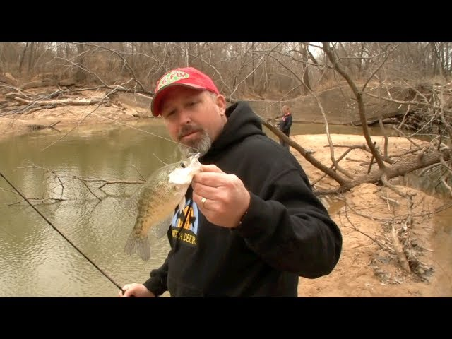 Tips on Crappie fishing from the bank!
