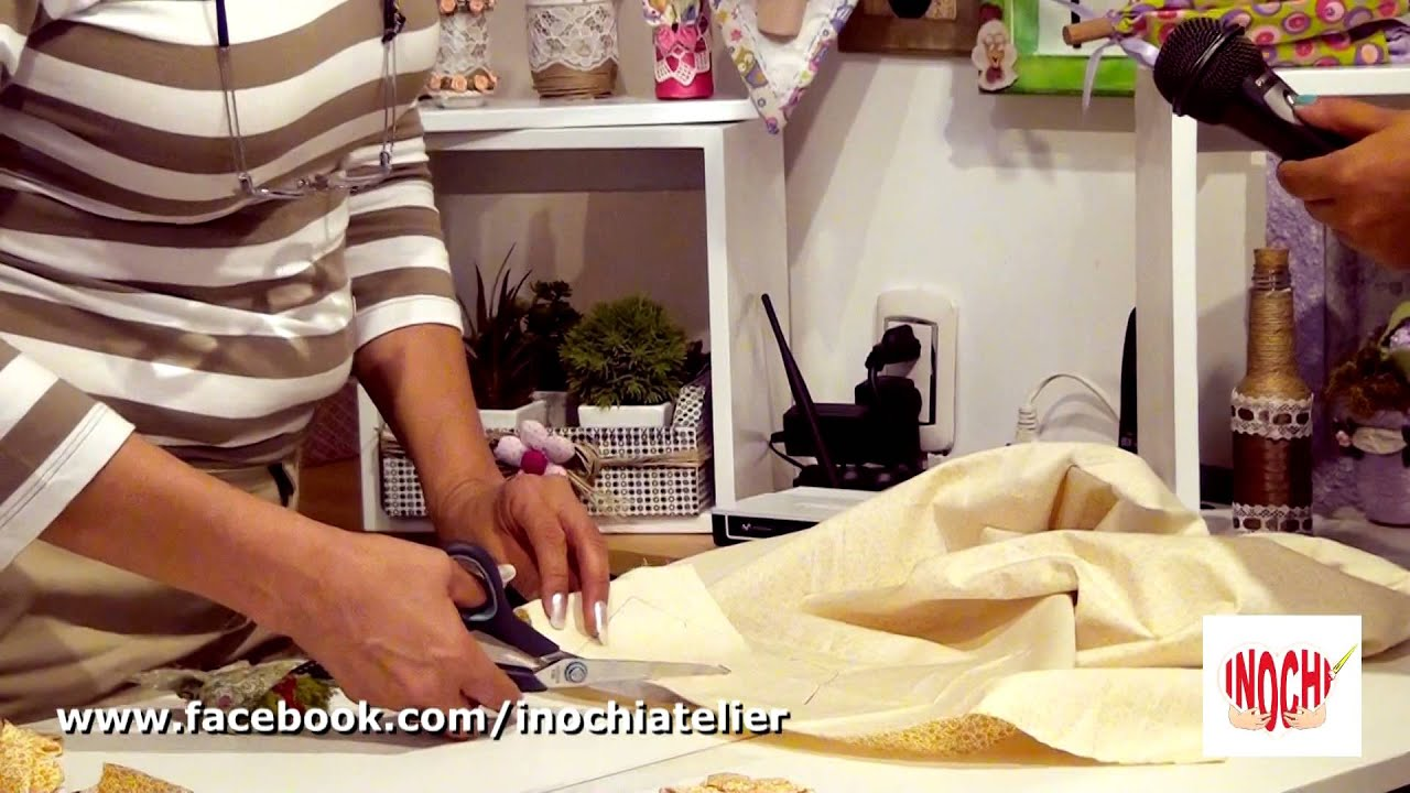 Decoraciones en telas para el hogar youtube for Decoracion artesanal para el hogar