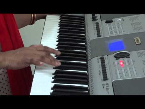 Pankh Hote To Ud Aati Re On Piano video