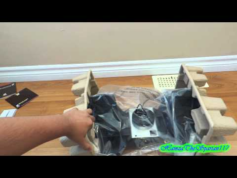 Saitek Pro Flight Cessna Rudder Pedals Unboxing 1080p