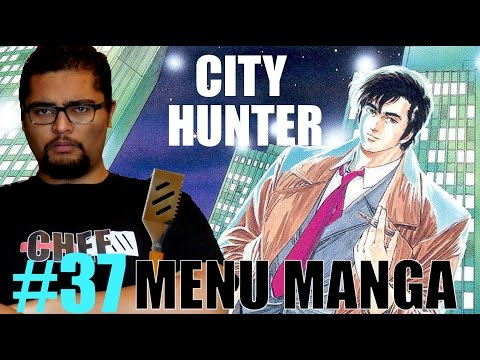 CITY HUNTER MENU MANGA #37