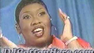 Missy Elliot talks about what makes her style so different (1997 News Report)