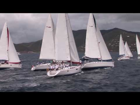 Final day of the BVI Spring Regatta sees ties in several classes