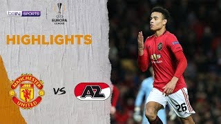 Man United 4-0 AZ Alkmaar | Europa League 19/20 Match Highlights