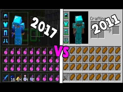 PvP Now VS 6 Years ago!