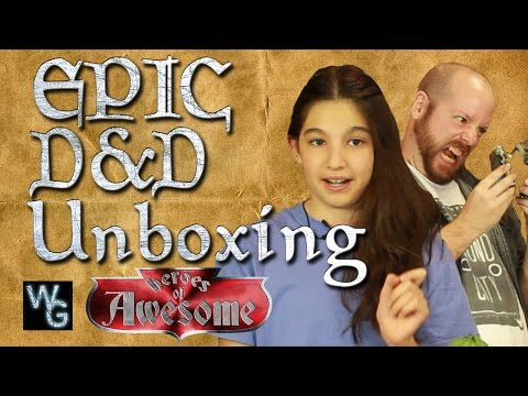 EPIC Dungeons and Dragons Unboxing