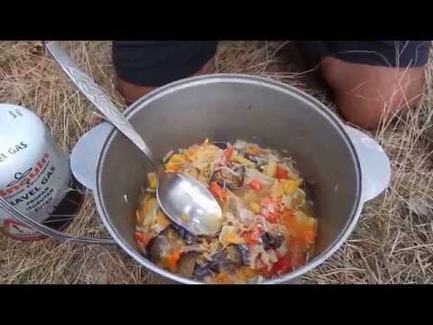 Приготовление овощного рагу из сушеных овощей