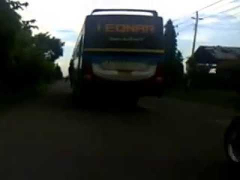 Bus Sahabat - Ngeblong Selap Selip Jl. Baru Slawi - Tegal