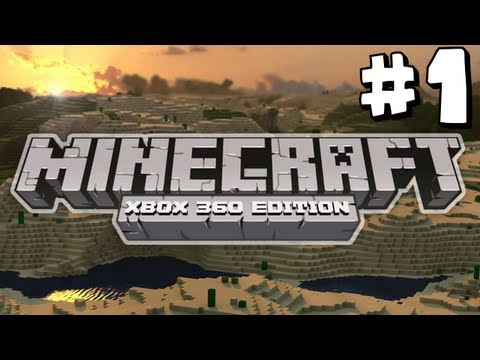 Minecraft: Xbox 360 A New Begining Part 1