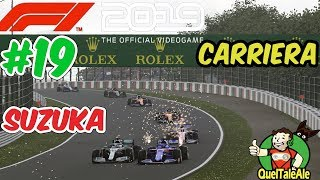 SPORTELLATE | F1 2019 - Gameplay ITA - Carriera #19 - SUZUKA