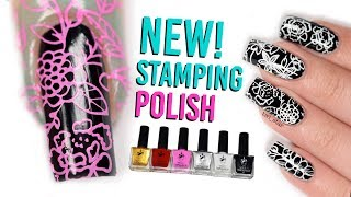 NEW! Nail Stamping Polish Review - Twinkled T