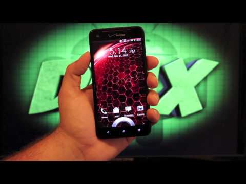 HTC Droid DNA Unboxing! First Impressions!