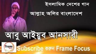 আল্লাহ অলির বাংলাদেশ । Abu ayub ansari । আবু আইয়ুব আনসারী । Bangla Islamic Song 2017