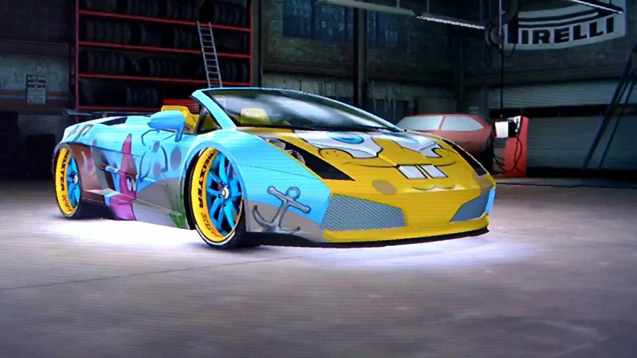 Midnight Club Los Angeles Spongebob Lamborghini Gallardo