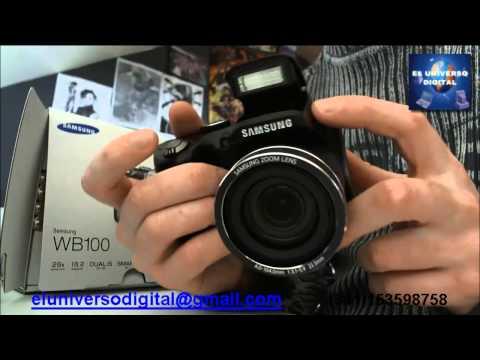Camaras digitales Samsung.Samsung Rosario.Samsung WB100 Rosario