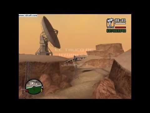 GTA San Andreas como manejar el hydra