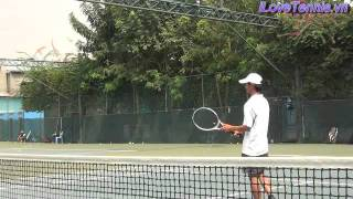 HLV Trương Quang Vũ hướng dẫn Chỉnh sửa động tác Tennis Phần 8
