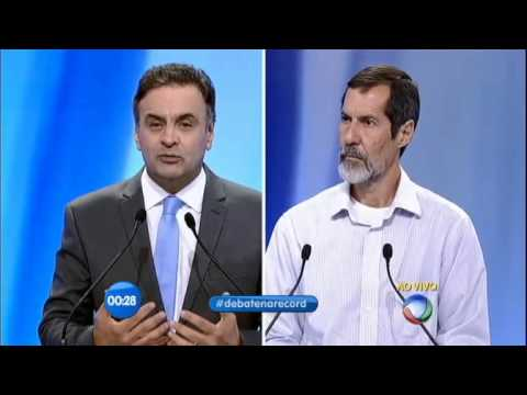 Debate Presidência Rede Record - 28/09/2014