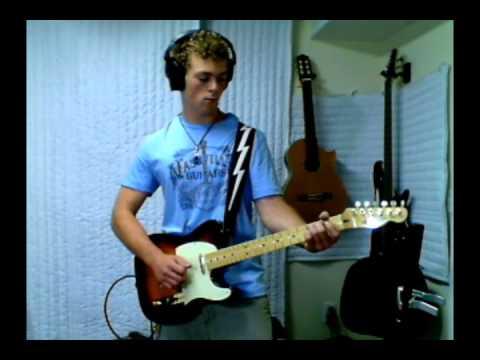 Brad Paisley waitin' On A Woman Guitar Cover video