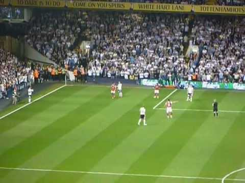 Tom Huddlestone screamer vs Arsenal