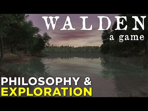 Walden, a game — A Philosophical Tale of Exploration & Survival