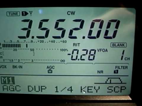 HEATHKIT AT1/K9KEU RECEIVED BY NG9D. EARLY QRP!