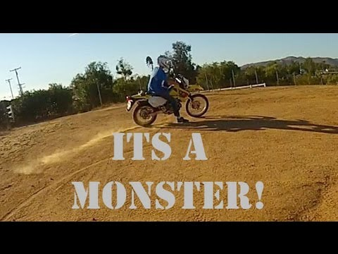 Suzuki DRZ 400 First Ride