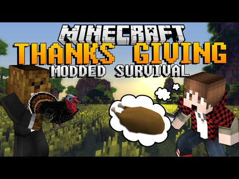 Minecraft Thanksgiving Modded (Turkey Mod)