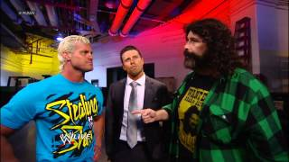 The Miz requests he be added to the nights RAWactive poll Raw Nov 12 2012