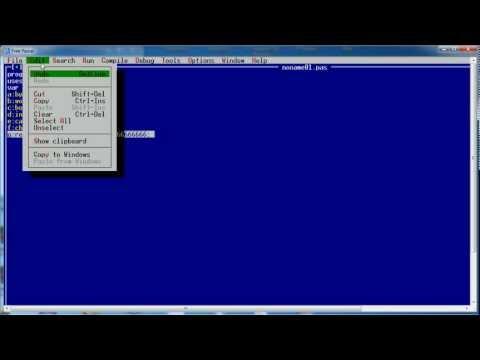 Programowanie z Grzybem, czyli kurs Turbo Pascala #1 - Podstawy cz.1