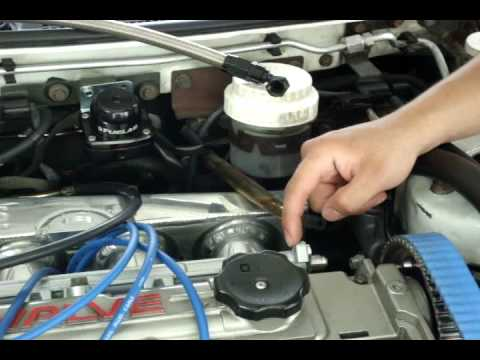 adjustable fuel pressure regulator aka afpr install part