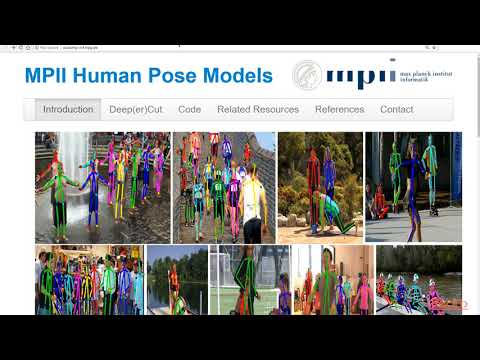 Advanced Computer Vision Projects: Pose Estimation with DeeperCut and ArtTrack packtpub.com