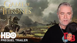 Game Of Thrones Prequel Trailer (HBO) Targaryen History - Fire And Blood REACTION