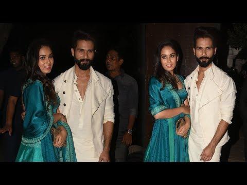 download lagu Adorable Couple Shahid Kapoor And Mira Rajput Celebrate Diwali gratis